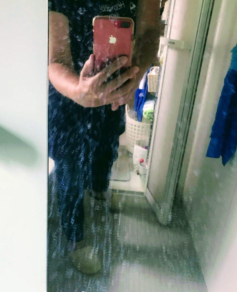 浴室の鏡汚れ